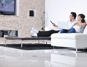 couple Watch TV