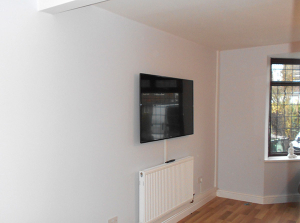 high quality domestic tv wall mounting in solihull