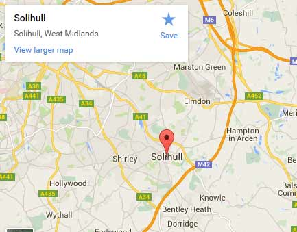 solihull digital satellite tv services area
