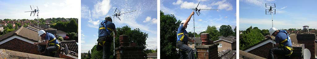TV Antennas Installed Across West Midlands by MKH