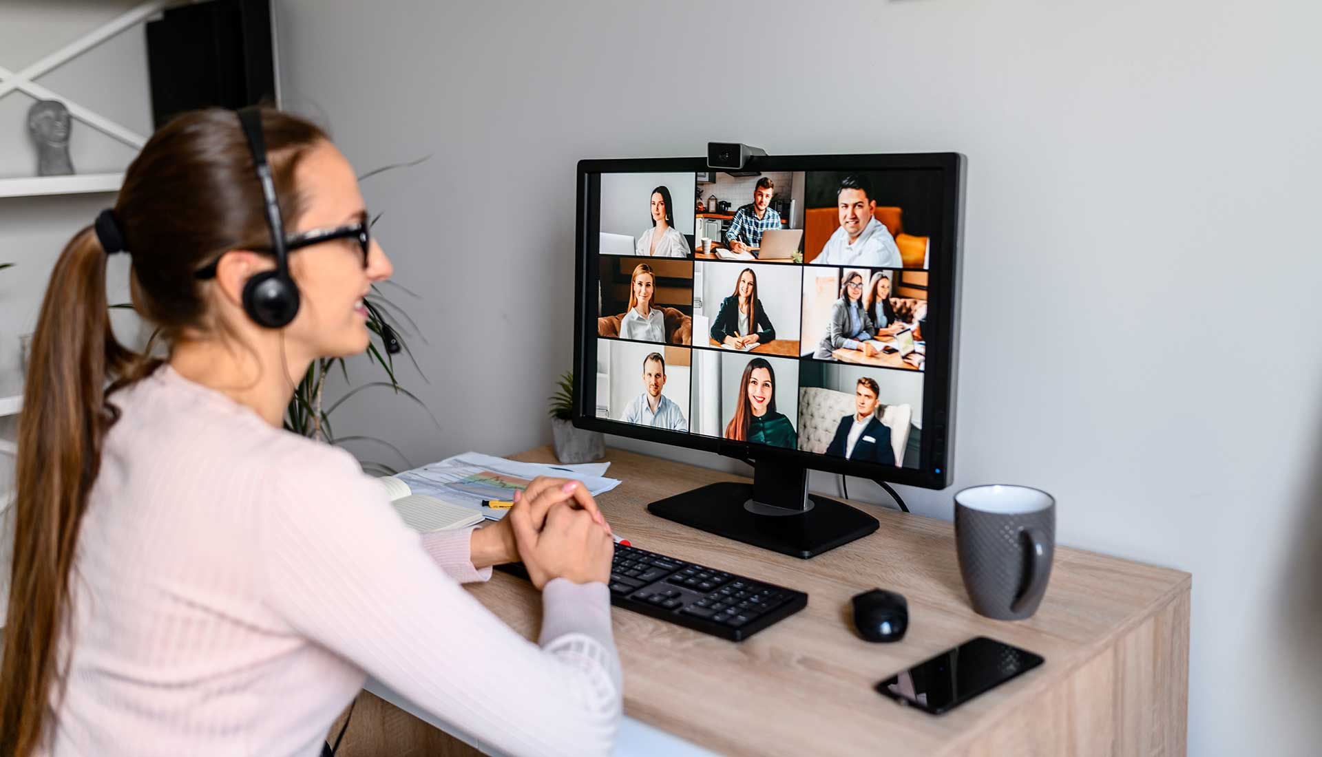cabled home network seamless video conferencing in zoom, teams and whatsapp