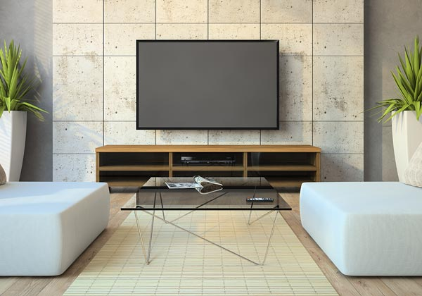 wall mounting your tv without fuss and leaving no mess