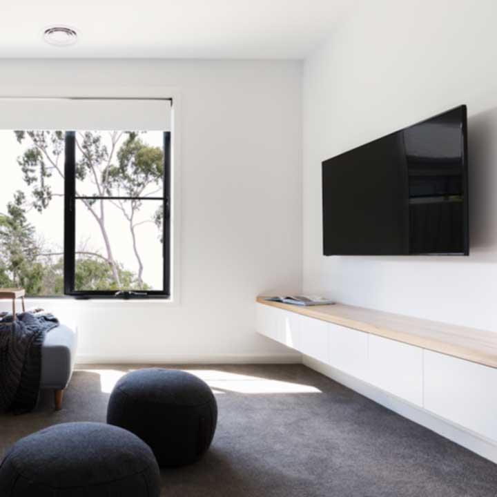 TV Wall Hanging